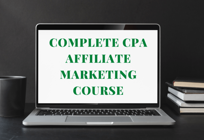 Complete Digital Marketing & CPA Affiliate Marketing Course